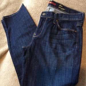 7 For All Mankind Slim Straight Jeans (30)